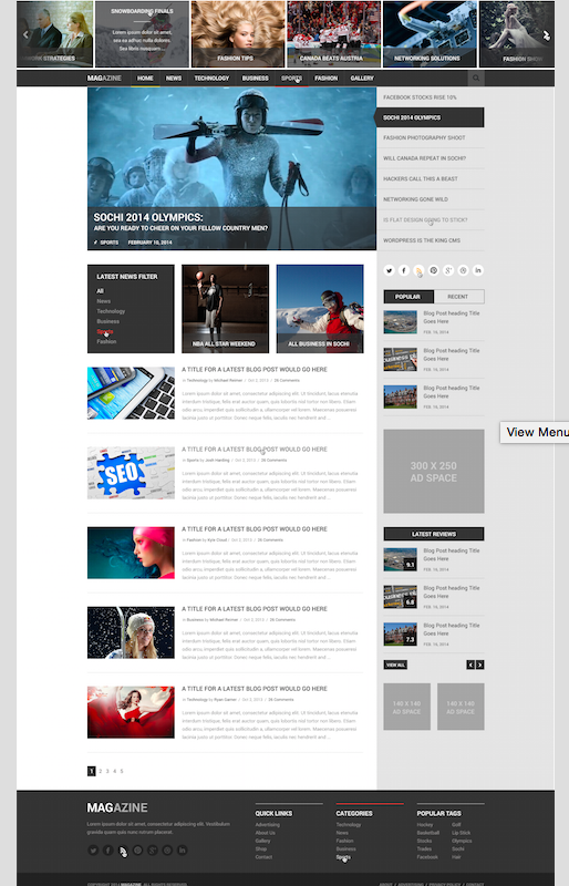 Fully Responsive Design - Flyweb Media