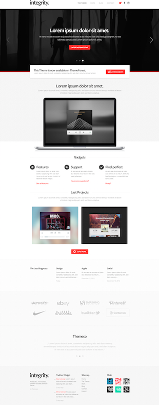 Wordpress Themes - Flyweb Media