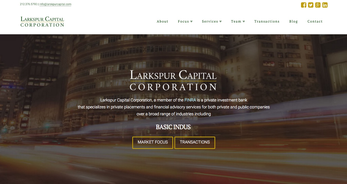 larkspur Corporation
